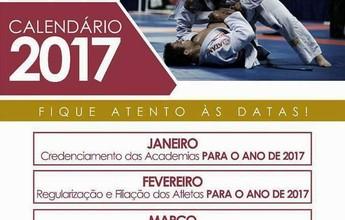 Com novidade, federação divulga calendário 2017 do jiu-jítsu acreano