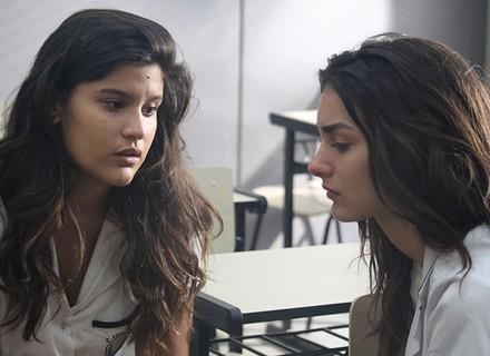 Lívia consola Luciana após término com Rodrigo