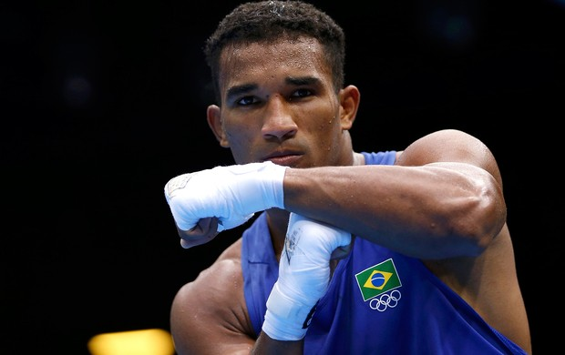 boxe Esquiva Falcao Anthony Ogogo londres 2012 (Foto: Agência Reuters)