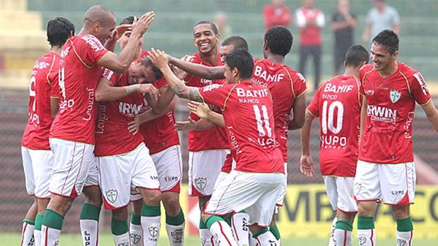 Portuguesa gol Lusa Portuguesa x Rio Branco (Foto: Divulgação Site Oficial da Portuguesa)