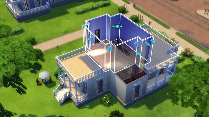 Há uma parcela de jogadores de The Sims que realmente prefere o Build Mode ao jogo principal (Foto: thesims4.it)