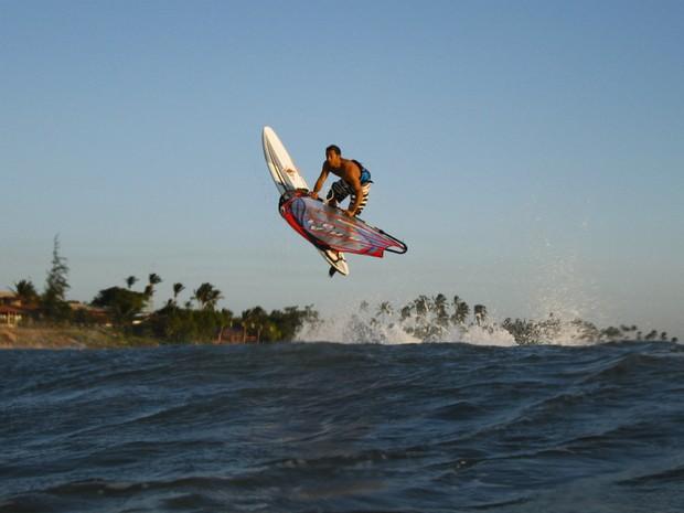 """Ventos fortes e águas mornas em um dos lugares mais encantadores do mundo. Assim velejadores descrevem """"Jeri"""", na cidade de Jijoca. (Foto:  Richard Ström / Colaboração)"""