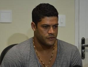 Hulk, atacante do Zenit (Foto: Hévilla Wanderley/GloboEsporte.com)