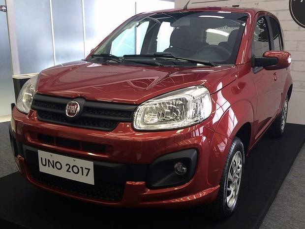Fiat Uno 2017 (Foto: André Paixão/G1)