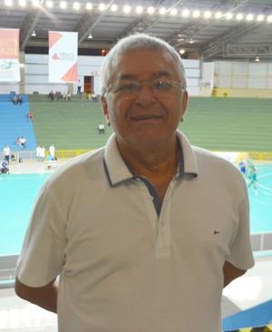 Manoel Luiz Oliveira presidente Confederação Brasileira de Handebol Uberaba (Foto: Alex Rocha)