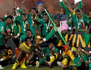 zambia campeã copa africana (Foto: Reuters)