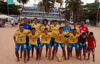 Copa Verão de Futebol de Areia vai ser jogada em João Pessoa e Jacaraú