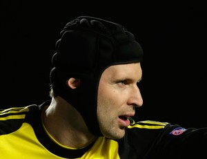 Cech Chelsea x PSG (Foto: AP)