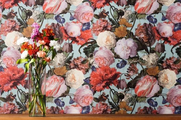 Papel de parede da coleção Masterpiece, da Orlean (Foto: Iara Venanzi / Editora Globo)