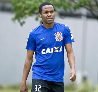 Elias no treino do Corinthians (Foto: Daniel Augusto Jr. / Agência Corinthians)