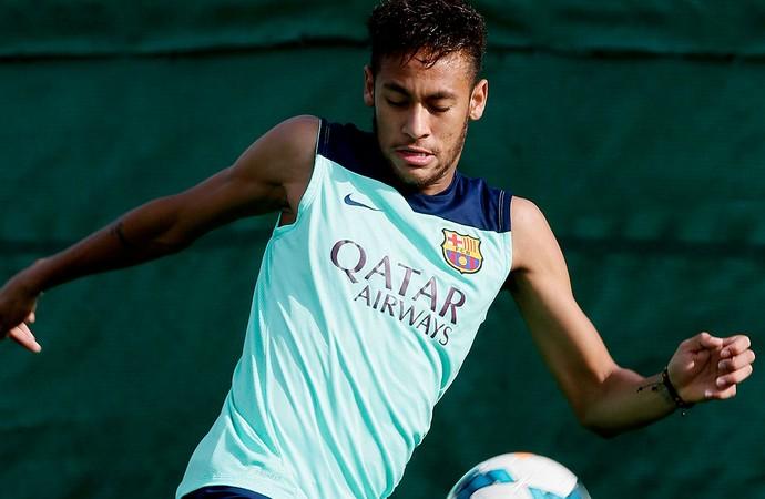 neymar barcelona treino (Foto: Agência Reuters)