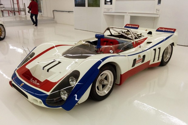 Protótipo Porsche da década de 1970 para Le Mans (Foto: Alexandre Izo/Autoesporte)