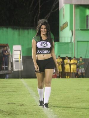 Aline Souza: Musa do Torneio Início 2013 (Foto: João Paulo Maia)