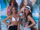 Maria Melilo e Carol Narizinho são juradas de concurso de beleza