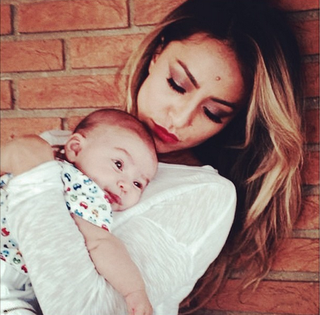 Sabrina Sato e o sobrinho, Felipe (Foto: Reprodução/Instagram)