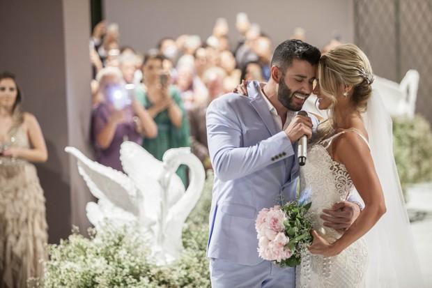 Casamento Gusttavo Lima e Andressa Suita (Foto: Rosimary Martins/ Divulgação)