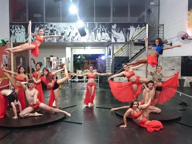 Divinópolis, pole dance, dança, espetáculo, apresentação (Foto: Maiher Menezes/Divulgação)