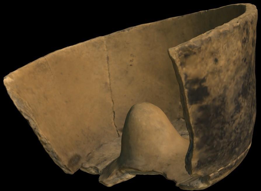Forma de bolo digitalizada (Foto: Reprodução)