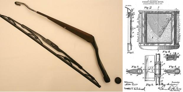 Mary Anderson foi responsável por criar o primeiro limpador de para-brisa (Foto: Wikimedia Commons, Google Patents)