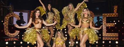 Bailarinas brilham em gravação de DVD
