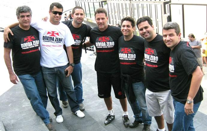 Campanha Vasco dívida zero com Carlos Germano (Foto: Andre Casado)