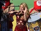 Shakira e Ivete Sangalo se apresentam na final da Copa