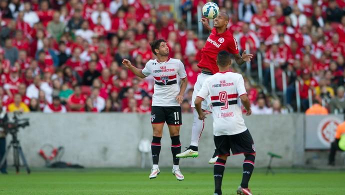 Alan Costa Luis Fabiano Alexandre Pato Inter Internacional São Paulo (Foto: Alexandre Lops / Internacional)