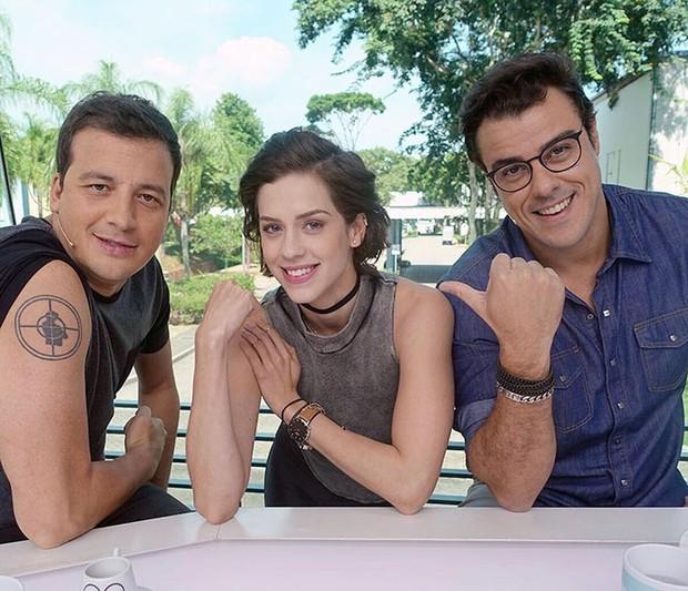 Rafael Cortez, Sophia Abrahão e Joaquim Lopes (Foto: Reprodução / Instagram)