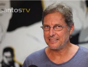 Oswaldo de Oliveira Santos (Foto: Reprodução/Santos TV)