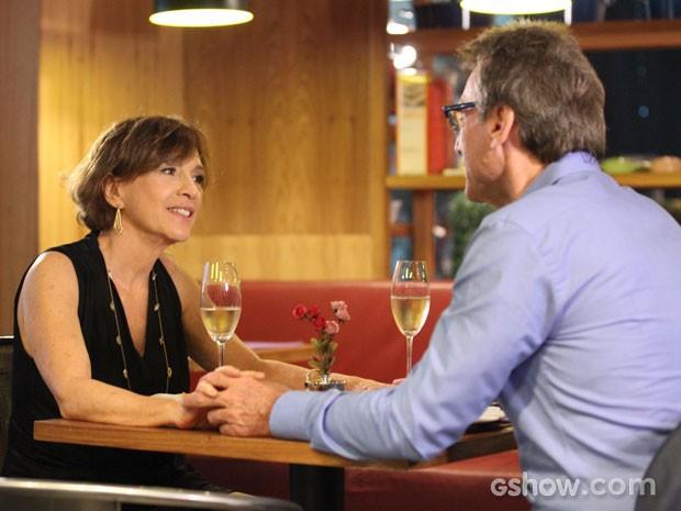 Chica e Ricardo não esperavam se deparar com Branca (Foto: Carol Caminha/TV Globo)