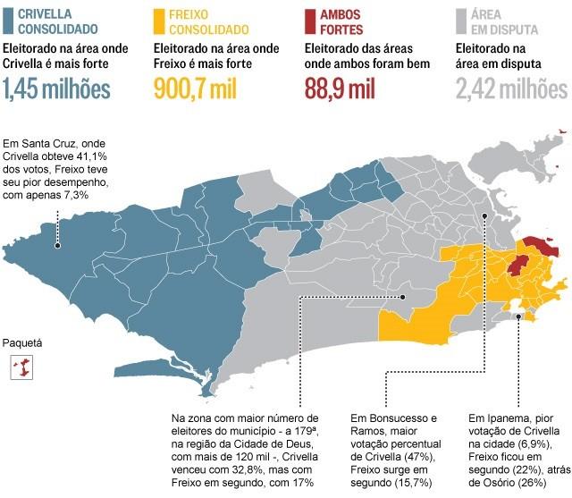 A geografia do voto
