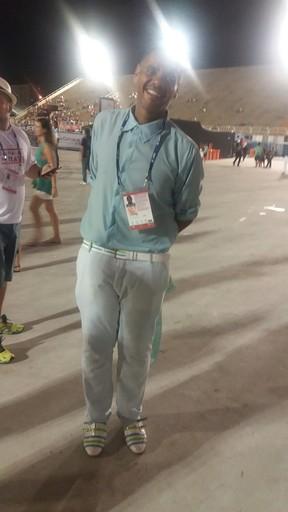 Alex Oliveira, ex-Rei Momo (Foto: EGO)