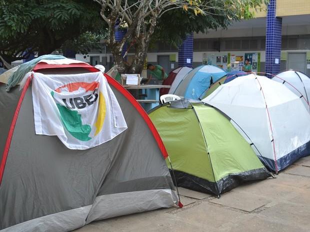 Estudantes ocupam campi do IFRN  (Foto: Divulgação)