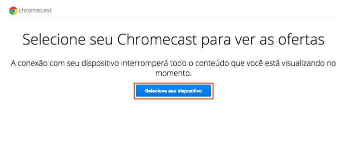 Clique para ativar a extensão Google Cast (Foto: Reprodução/Paulo Alves)