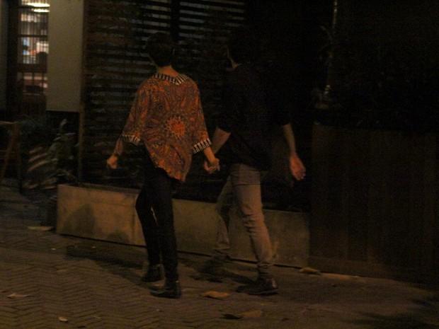 Daniel Oliveira e Sophie Charlotte na Zona Sul do Rio (Foto: Rodrigo dos Anjos/ Ag. News)