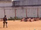 Vídeo mostra destruição nos pavilhões de presídio em Caicó, RN