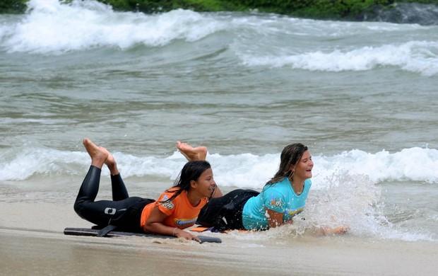 Nas Ondas do Rio Mariana Farias e Camila Sampaio (Foto: Alexandre Durão / GLOBOESPORTE.COM)