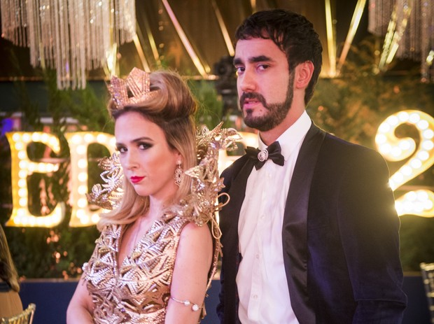 Tatá Werneck e Gabriel Godoy como Fedora e Leozinho em Haja Coração (Foto: Globo/João Miguel Júnior)