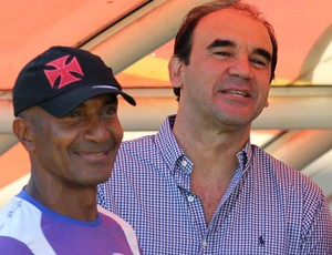 ricardo gomes cristovão borges vasco treino (Foto: Marcelo Sadio / Site Oficial do Vasco)