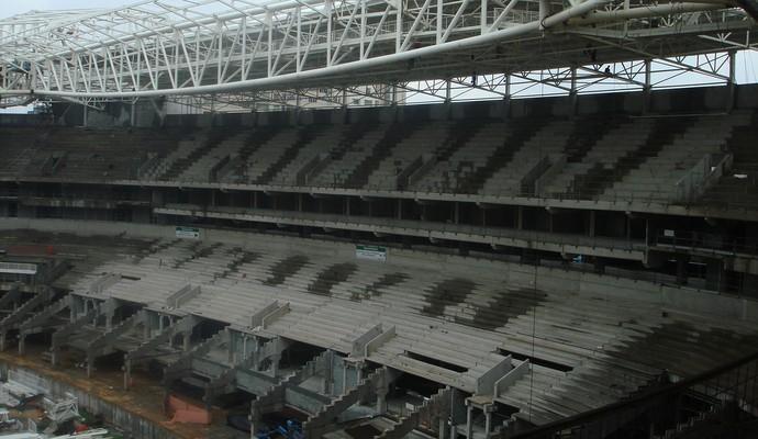 Arquibancada Arena Palestra Allianz Parque (Foto: Felipe Zito)