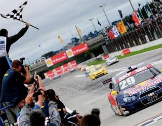 Globo Esporte Paraná (Foto: Duda Bairros / Stock Car)