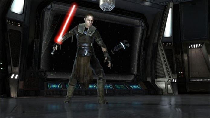 Star Wars The Force Unleashed com Starkiller (Foto: Divulgação)