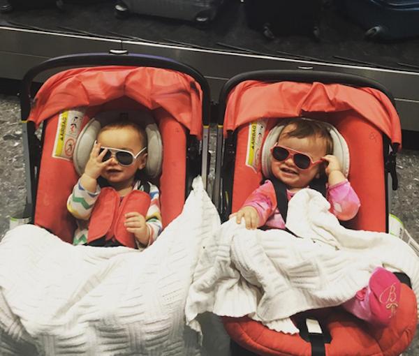 As filhas do guitarrista Ron Wood (Foto: Instagram)