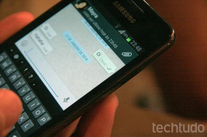 Apesar de ZapZap rodar no navegador, WhatsApp está em mais plataformas mobile (Foto: Luciana Maline/TechTudo) (Foto: Apesar de ZapZap rodar no navegador, WhatsApp está em mais plataformas mobile (Foto: Luciana Maline/TechTudo))