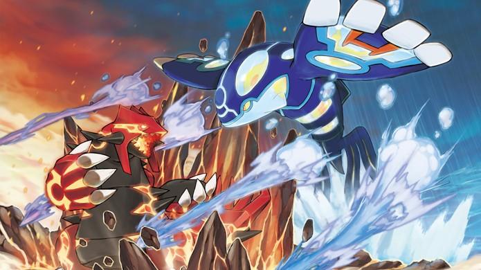 Groudon e Kyogre são exclusivos das versões Omega Ruby e Alpha Sapphire respectivamente (Foto: Nintendo News Fix)