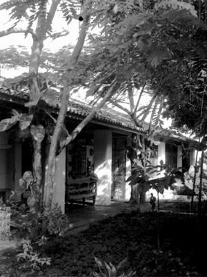 Casa do Rio Vermelho, em Salvador (Foto: Zélia Gattai/ Acervo Fundação Casa de Jorge Amado)