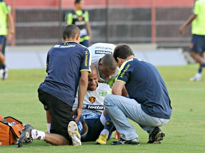 Anderson Pedra - Sport (Foto: Aldo Carneiro/Pernambuco Press)