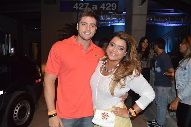 Preta Gil e namorado (Foto: Felipe Souto Maior / AgNews)
