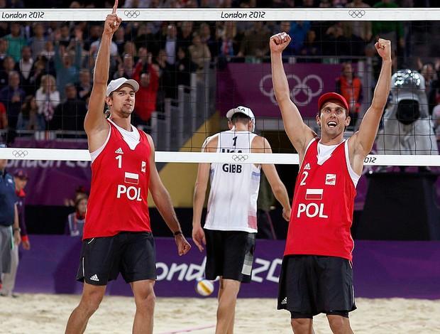 Mariusz Prudel e Grzegorz Fijalek, Polonia (Foto: Agência Reuters)