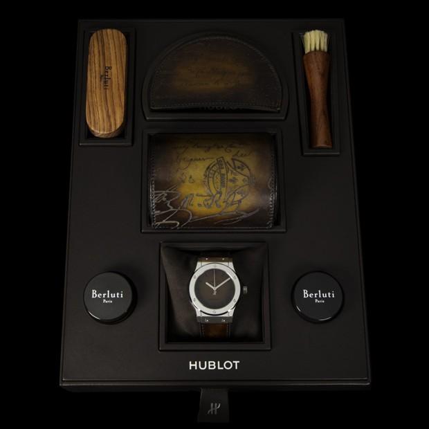 A caixa especial do relógio (Foto: Divulgação)